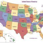 Karta država SAD-a