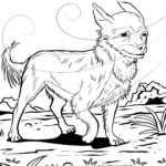 Coloring page Chihuahua | dogs