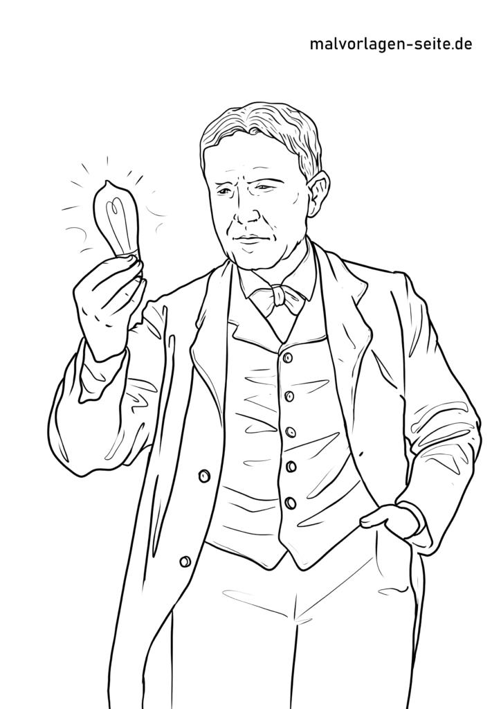Томас Алва Эдисонның бояу парағы