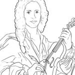 Koloriga paĝo Antonio Vivaldi | Personecoj
