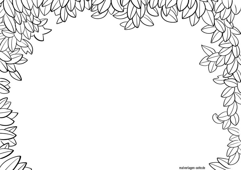 Vârf frunză cadru