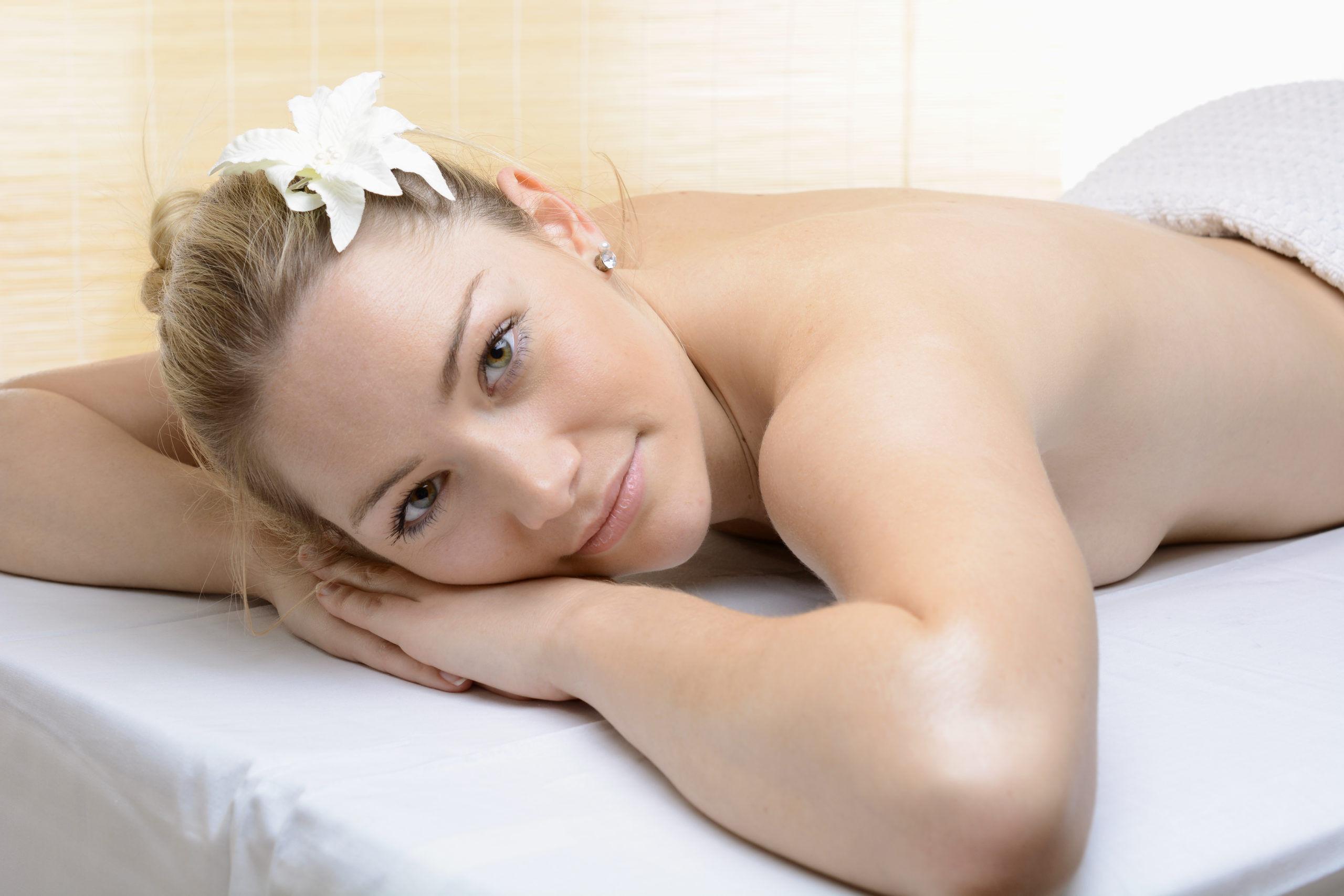 Schmerzlinderung durch Massage
