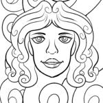 Sternzeichen Jungfrau | Tierkreiszeichen ausmalen