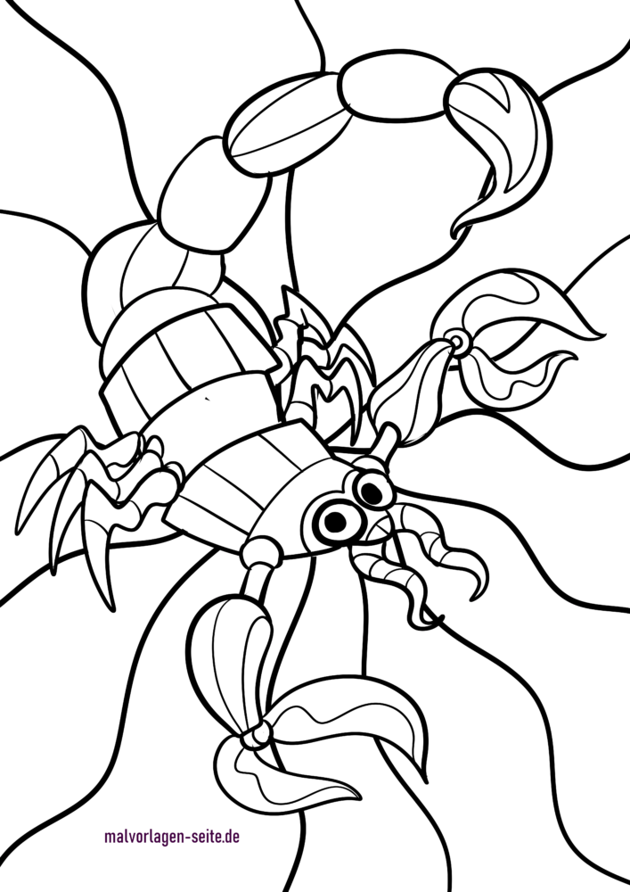 Tierkreiszeichen / Sternzeichen Skorpion