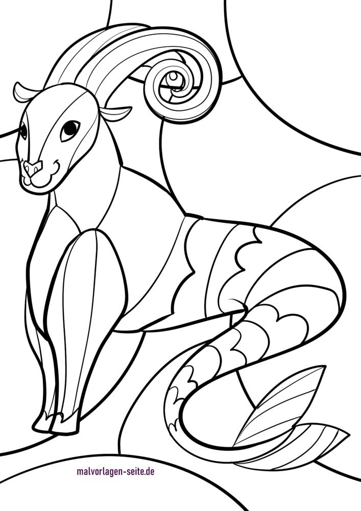 Signs of the zodiac / zodiac sign Capricorn