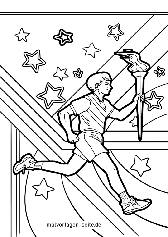 - Coloring Page Olympic Games Sport - Free Coloring Pages