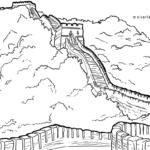 Malvorlage Chinesische Mauer