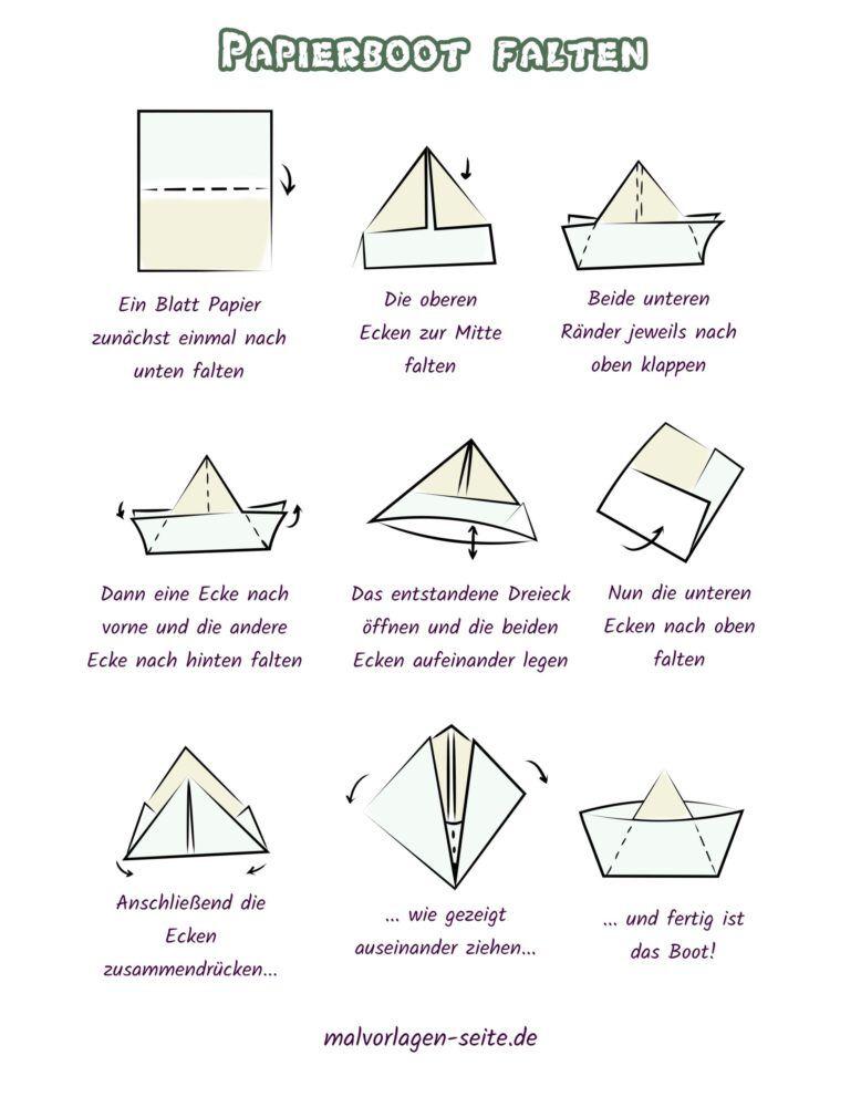 Fold the paper boat - make a paper boat