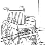 Farvelægning kørestol