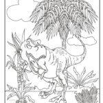 Bojanje stranice dinosaura