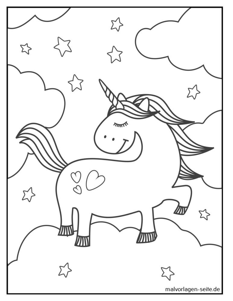афарбоўванне Unicorn