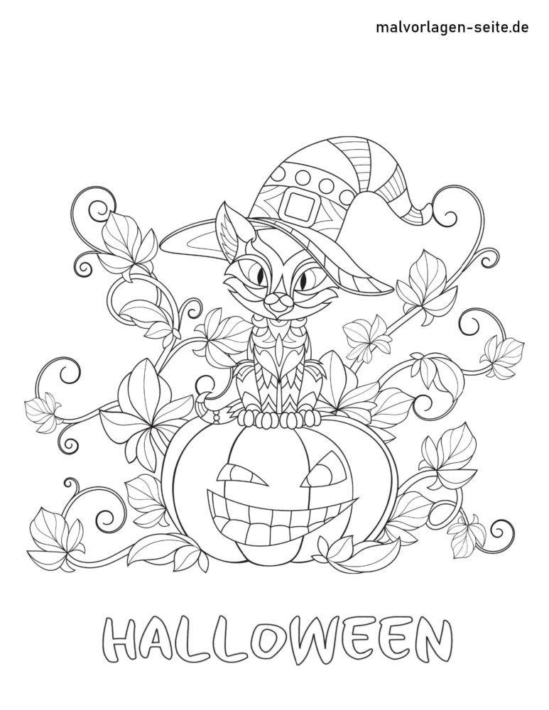 malvorlage halloween  kostenlose ausmalbilder