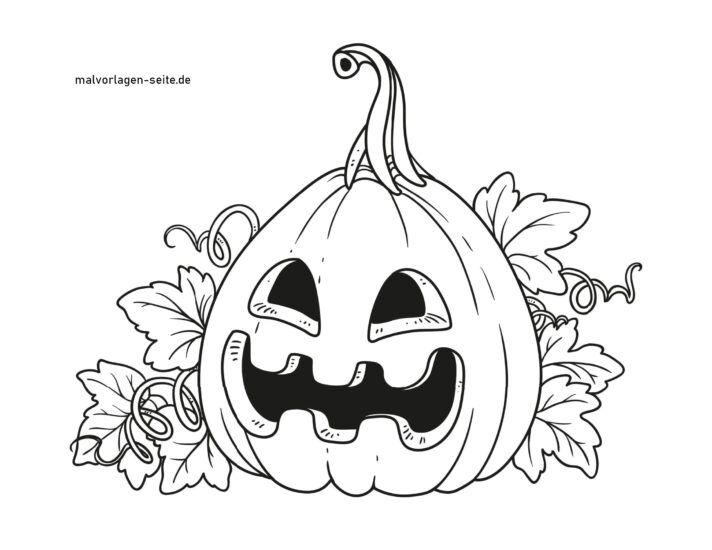 Coloriage Citrouille D Halloween Coloriages Gratuits