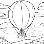 Farvelægning varmluftsballon | At flyve