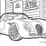 Malvorlage Oldtimer Auto