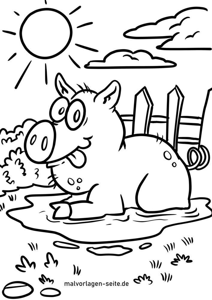 Farvende gris