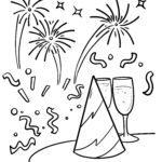 Bojanje stranice Proslava Nove godine