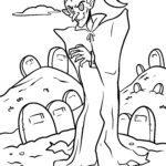 Malvorlage Vampir | Vampire