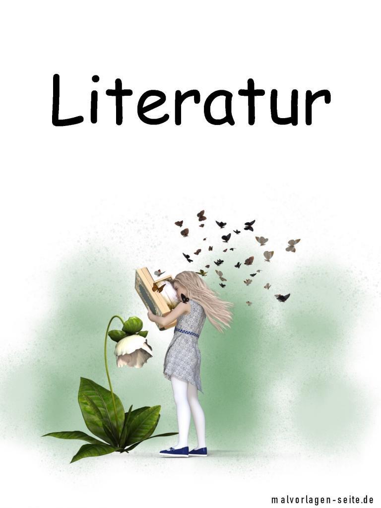 Deckblatt Literatur