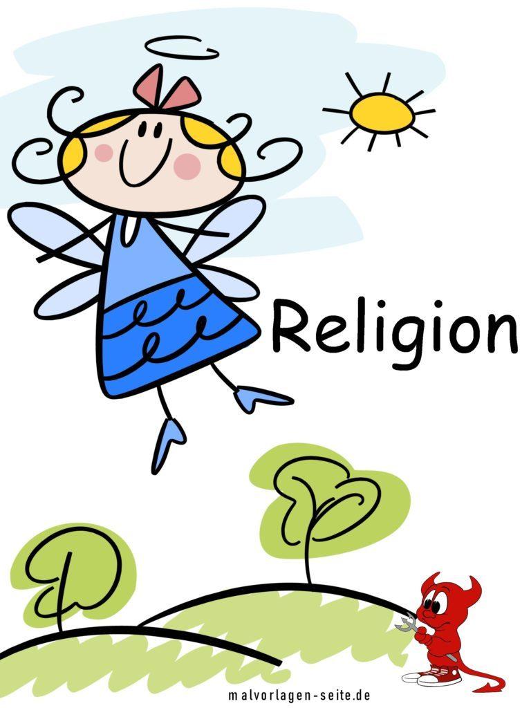 Deckblatt Religion | Schule