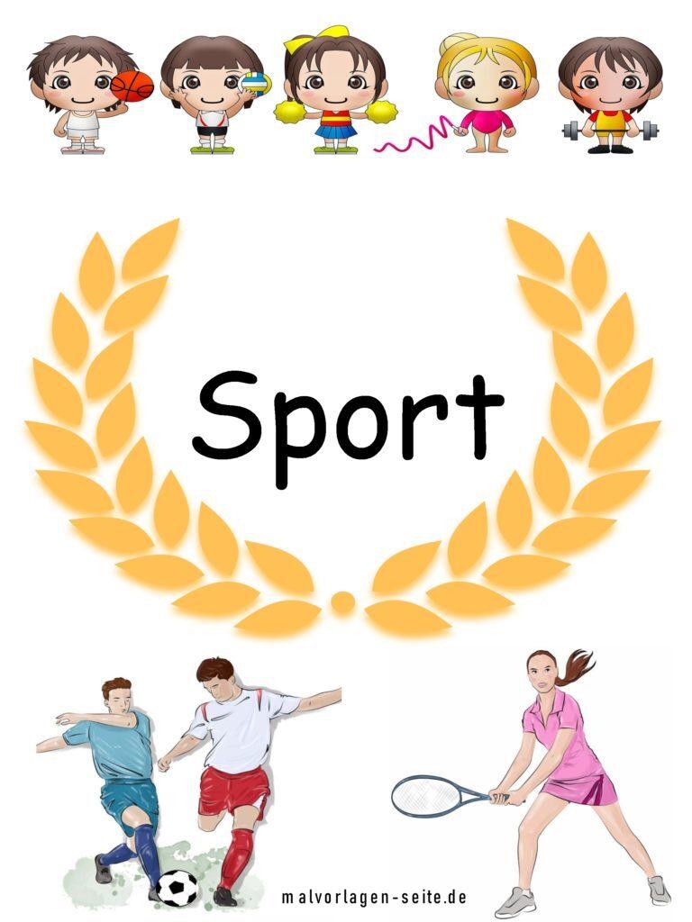 Copertina di sport | scola