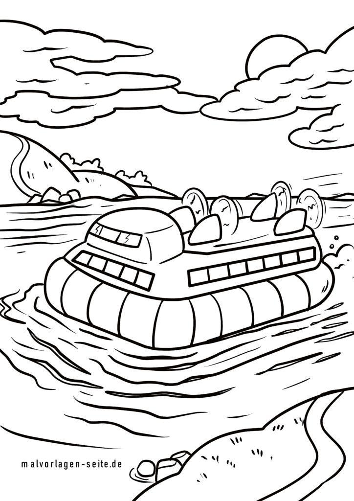 ausmalbilder boote und schiffe kostenlos drucken und ausmalen