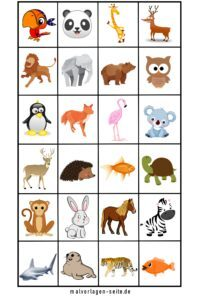 Memo templates animals