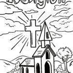 Malvorlage Religion