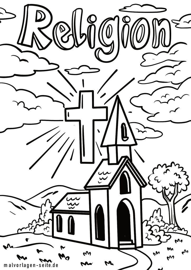 Malvorlage Religion Kostenlose Ausmalbilder
