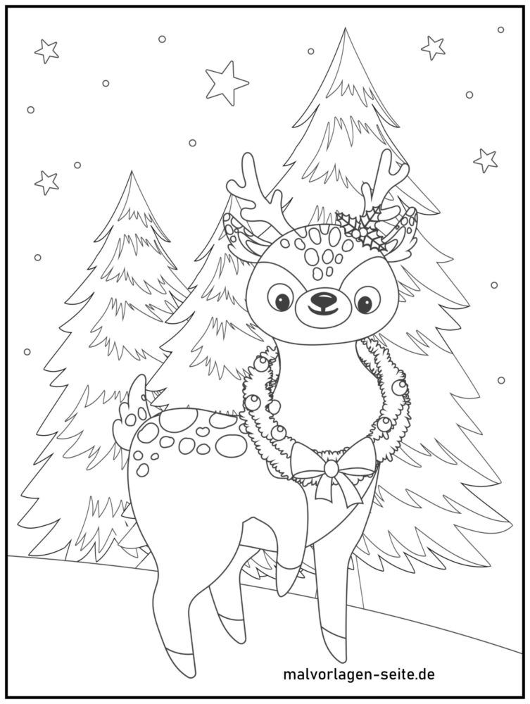 malvorlagen weihnachten  kostenlose ausmalbilder
