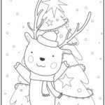 Coloring page Christmas