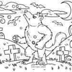 Malvorlage Werwolf