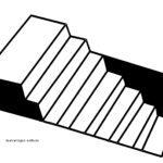 კიბე 3D ეფექტით