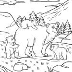 Coloring page Bear | animals