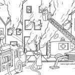 Coloriage pompiers