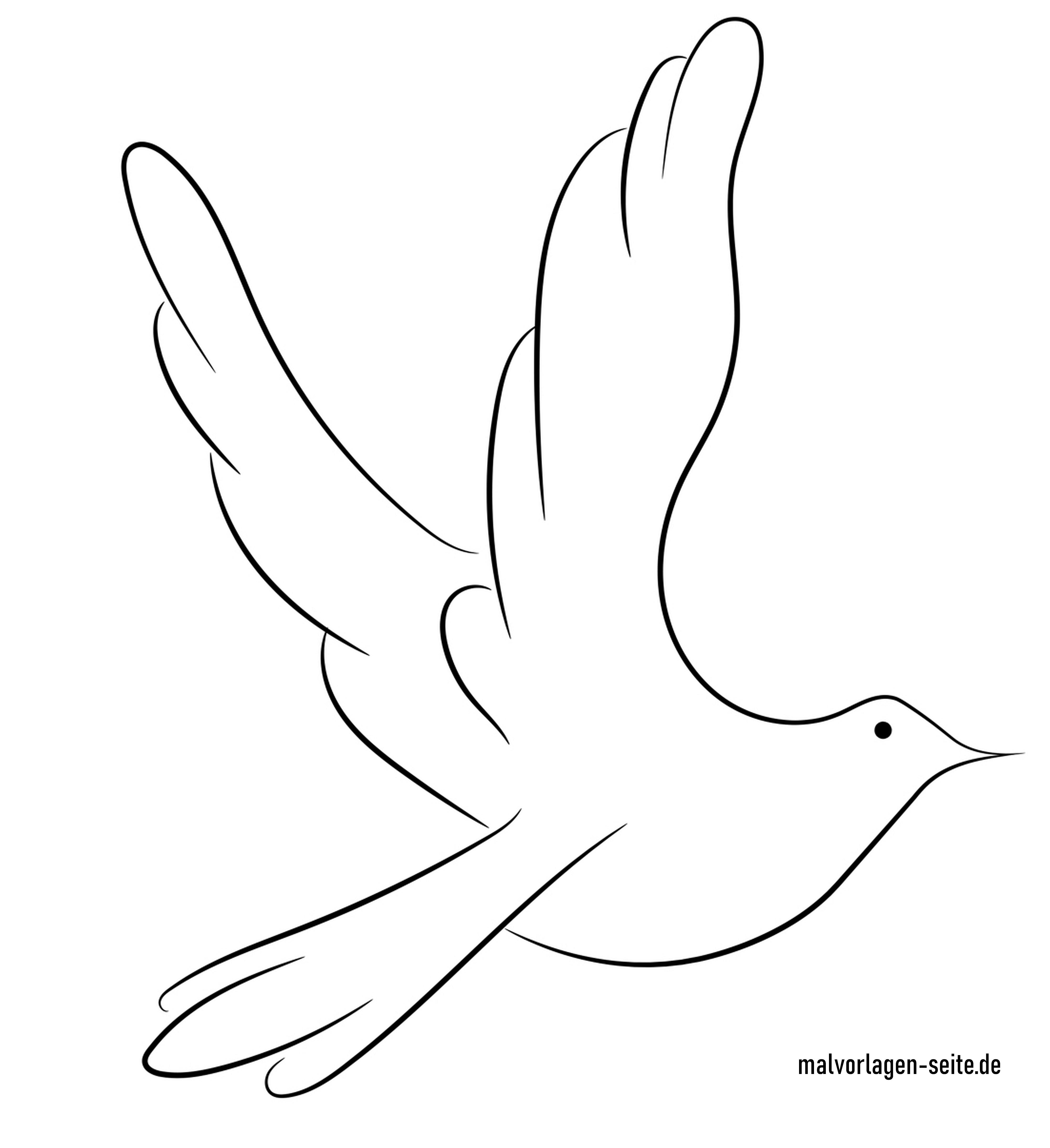 Symbol Friedenstaube