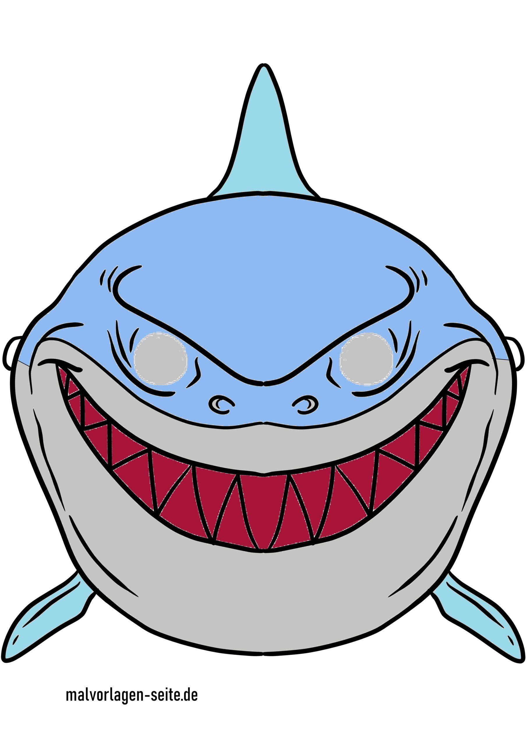 Basteln Mit Kindern Anleitung Hai Und Fisch