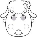 Mask template sheep - tinker masks