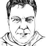Template potret wajah pria | Potret orang