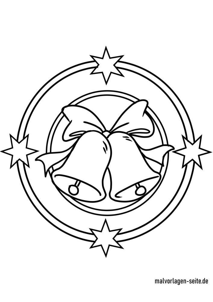 Koloreztatzen Gabonetako mandala kanpaia