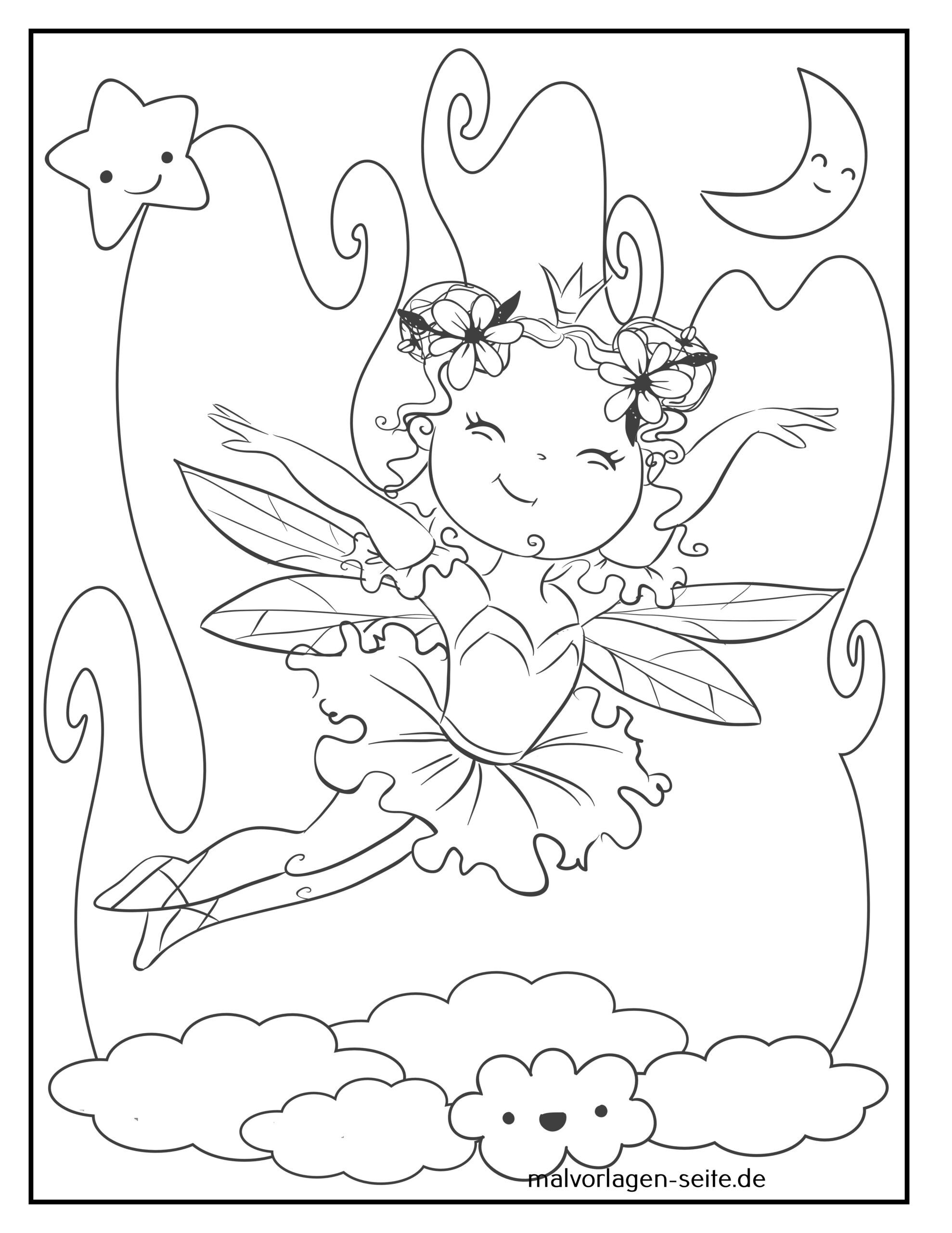 Farvelægning fairy