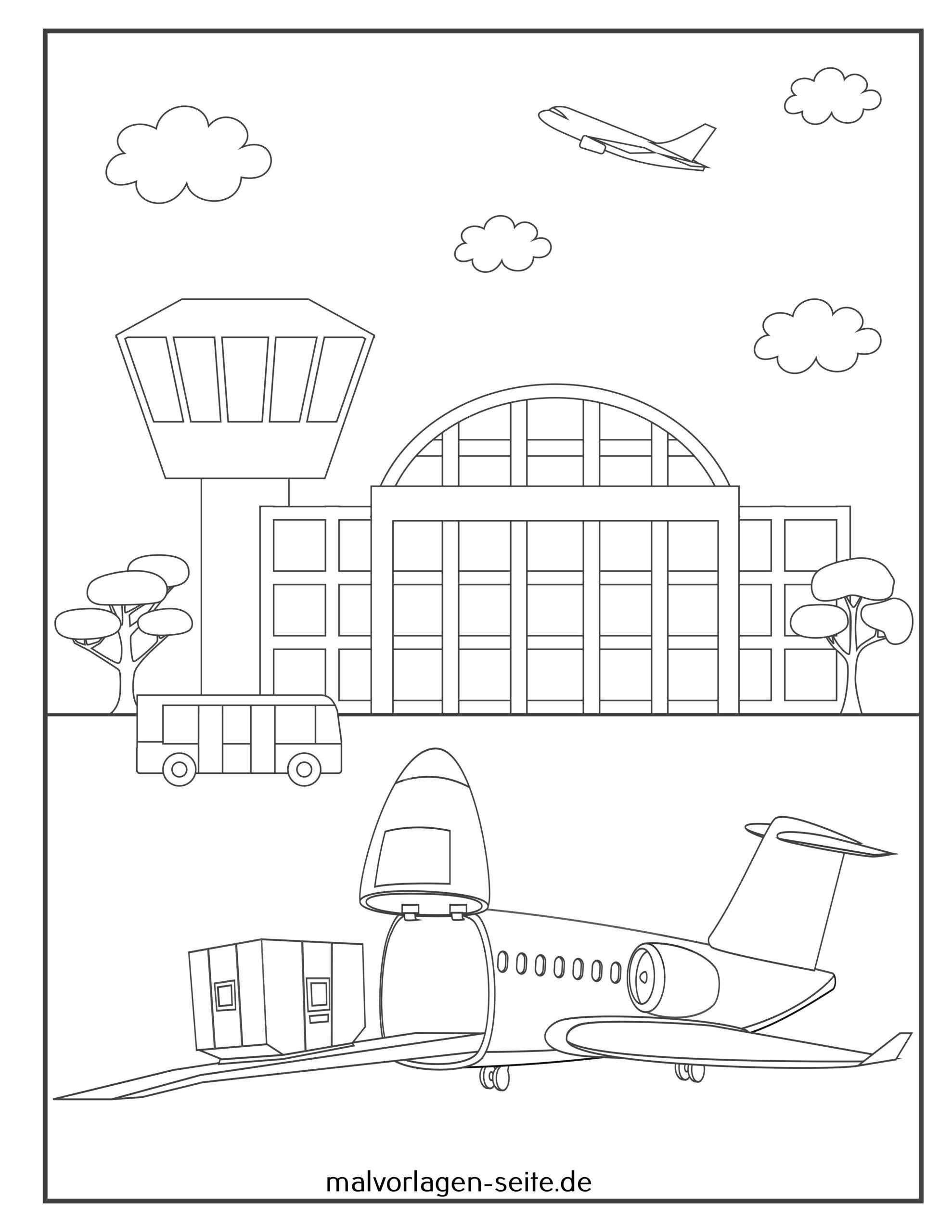 Värivälineen lentokone