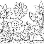 דף צביעה אביב - עונות השנה