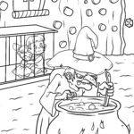 Farvelægning Hansel og Gretel eventyr
