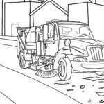 Coloring page sweeper