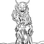 Coloriage Krampus