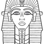 Mask template Egypt - make masks