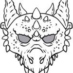 Mask template dragon - tinker masks