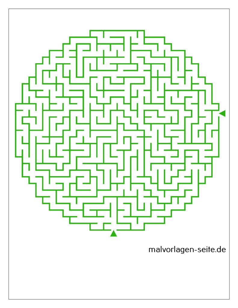 labyrinth ຂັ້ນສູງ - ວົງ