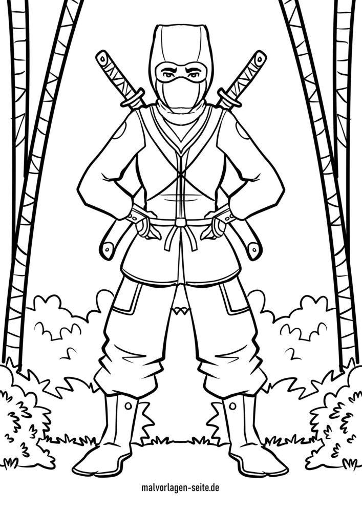 Koloran paj Ninja